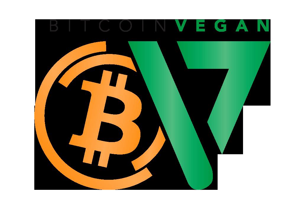 Bitcoin Vegan Logo
